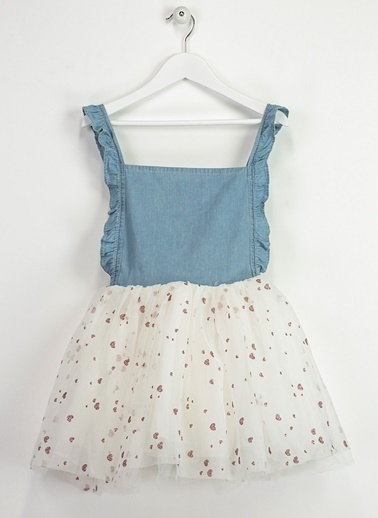 Askılı Tütü Elbise-Morhipo Kids